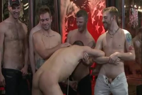 lusty homo spanking With Facial