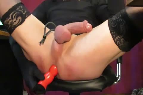 Crossdresser plow Her booty And schlong
